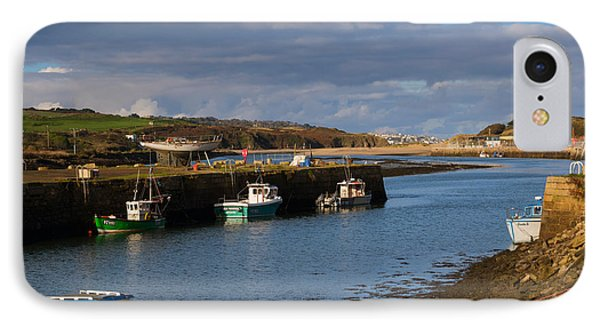 The Harbour At Hayle Cornwall Phone Case by Louise Heusinkveld