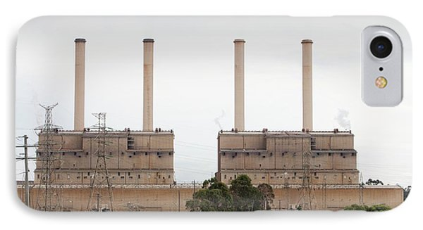The Hazelwood Coal Fired Power Station IPhone Case by Ashley Cooper