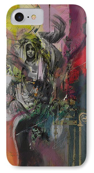 The High Priestess IPhone Case by Corporate Art Task Force