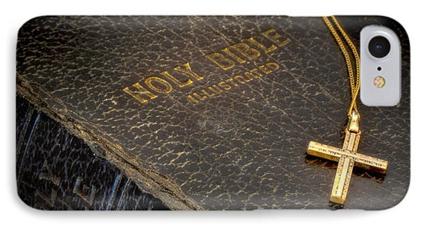 The Holy Bible Phone Case by David and Carol Kelly