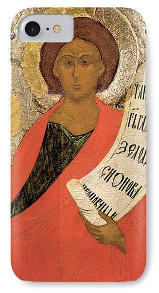 The Holy Prophet Zacharias IPhone Case by Novgorod School