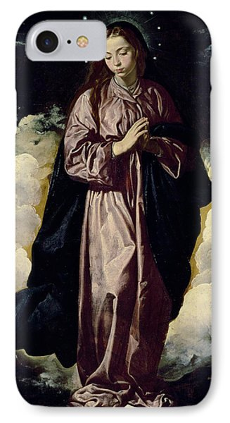 The Immaculate Conception IPhone Case by Diego Rodriguez de Silva y Velazquez