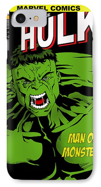 The Incredible Hulk IPhone 7 Case by Mark Rogan