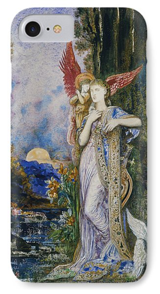The Inspiration  Phone Case by Gustave Moreau