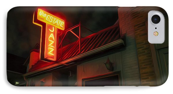 The Jazz Estate IPhone Case by Scott Norris