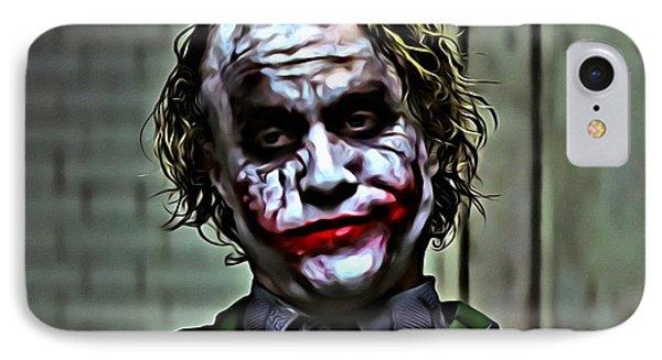 The Joker IPhone 7 Case by Florian Rodarte