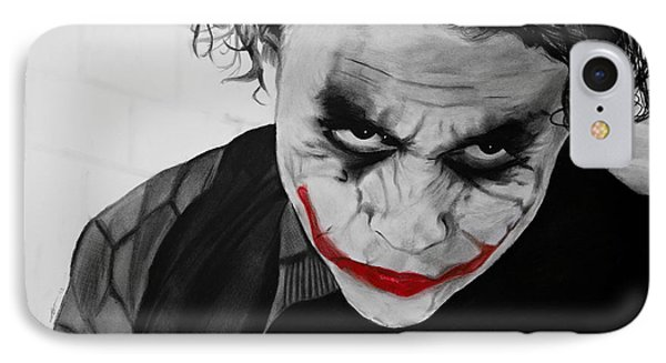 The Joker IPhone Case by Robert Bateman