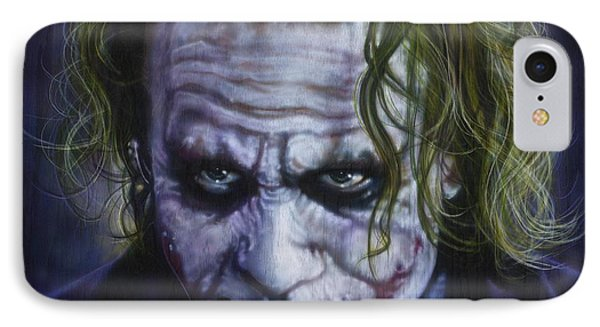 The Joker IPhone Case by Tim  Scoggins