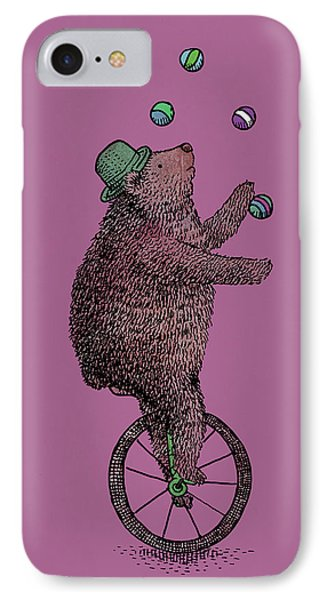 The Juggler IPhone Case by Eric Fan