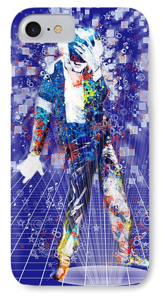 The King 4 IPhone Case by Bekim Art