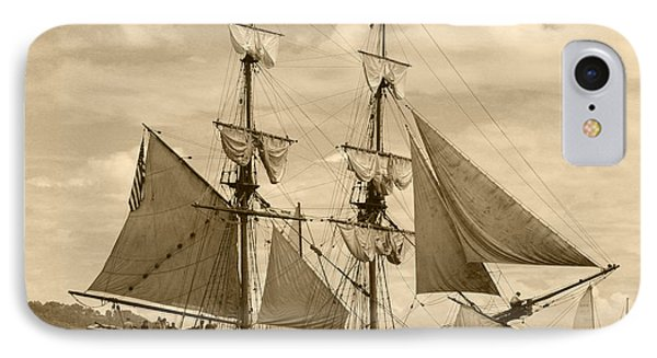 The Lady Washington Ship Phone Case by Kym Backland