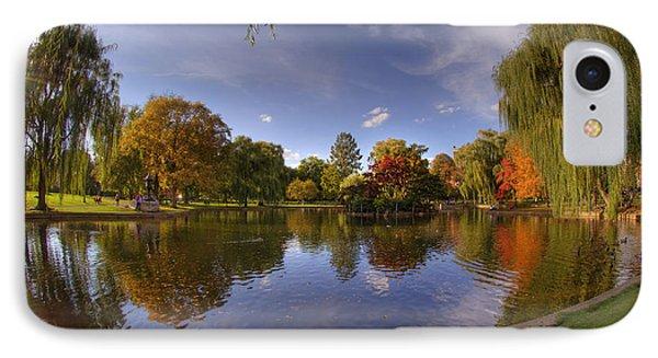 The Lagoon - Boston Public Garden IPhone Case by Joann Vitali