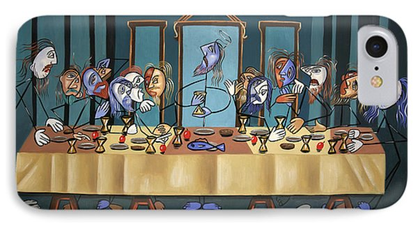 The Last Supper IPhone Case by Anthony Falbo