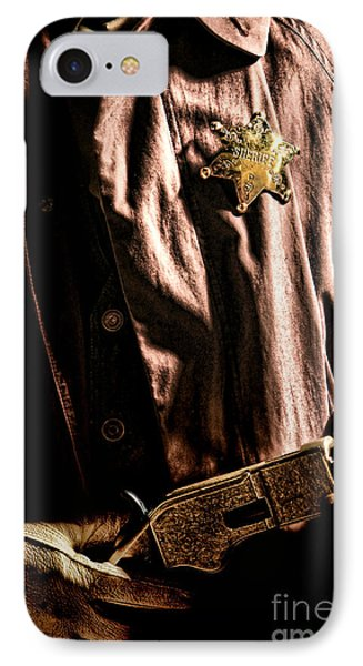 The Law IPhone Case by Olivier Le Queinec