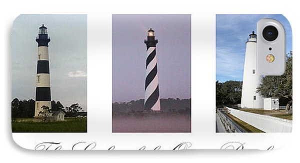 The Lights Of The Outer Banks IPhone Case by Tony Cooper