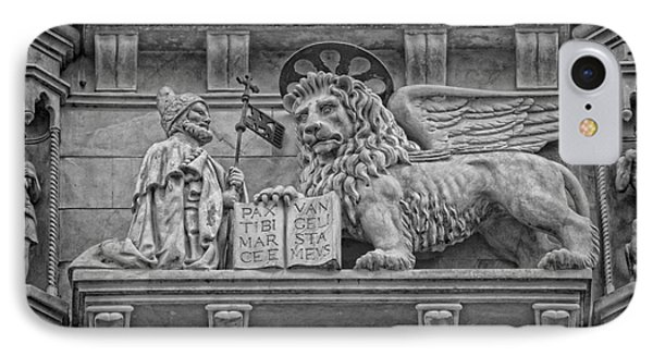 The Lion Of Saint Mark Phone Case by Lee Dos Santos