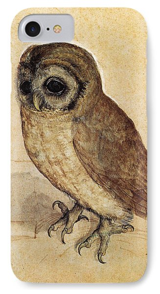 The Little Owl 1508 IPhone Case by Philip Ralley