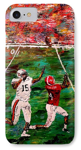 The Longest Yard - Alabama Vs Auburn Football Phone Case by Mark Moore