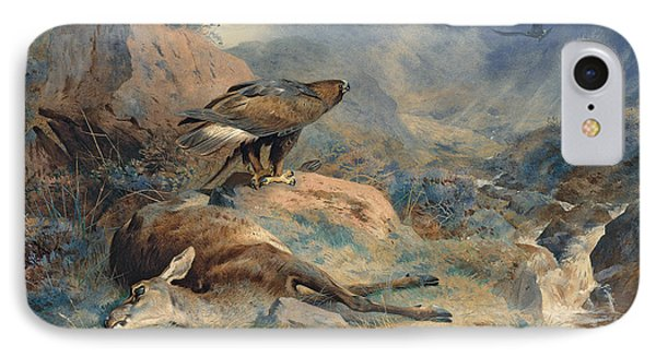 The Lost Hind IPhone Case by Archibald Thorburn