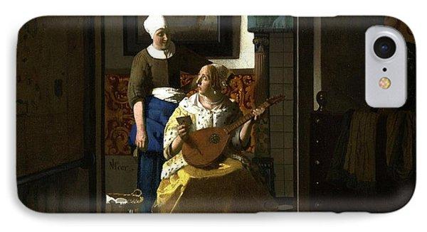 The Loveletter IPhone Case by Johannes Vermeer