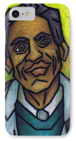 The Man With The Golden Voice IPhone Case by Kamil Swiatek