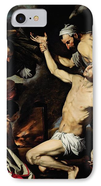 The Martyrdom Of Saint Lawrence IPhone Case by Jusepe de Ribera