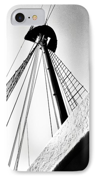 The Mast Of The Peacemaker IPhone Case by Natasha Marco
