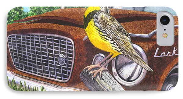 The Meadowlarks IPhone Case by Catherine G McElroy