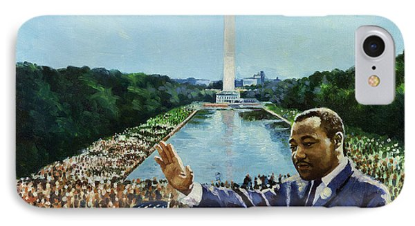 The Memorial Speech IPhone Case by Colin Bootman