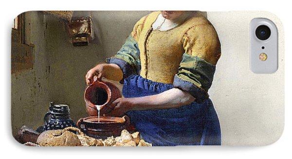 The Milkmaid IPhone Case by Jan Vermeer