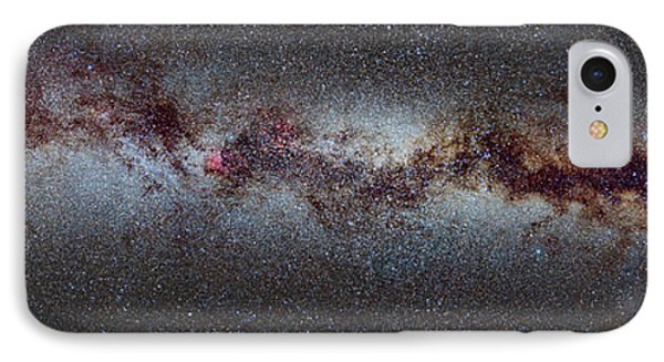 The Milky Way From Scorpio And Antares To Perseus IPhone Case by Guido Montanes Castillo