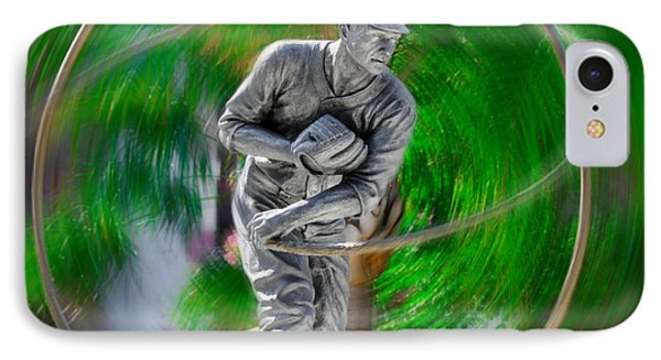 The Motion Of The Pitch IPhone Case by Bill Cannon