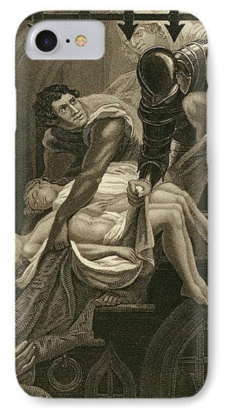 The Murder Of The Two Princes IPhone Case by James Northcote