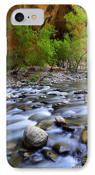The Narrows A Place To Pause Phone Case by Bob Christopher