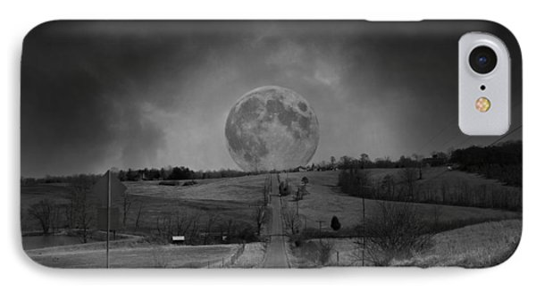 The Night Begins IPhone Case by Betsy Knapp