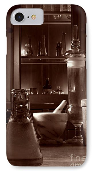 The Old Apothecary Shop Phone Case by Olivier Le Queinec