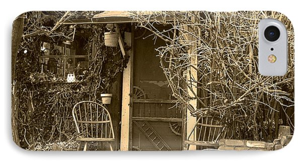 The Old House In Genoa Nevada Phone Case by Artist and Photographer Laura Wrede