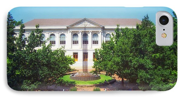 The Old Main - University Of Arkansas IPhone 7 Case by Mountain Dreams