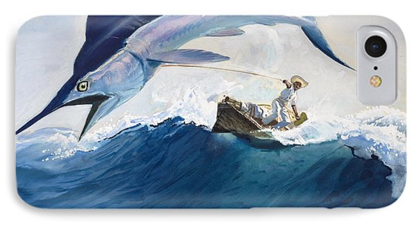 The Old Man And The Sea IPhone 7 Case by Harry G Seabright