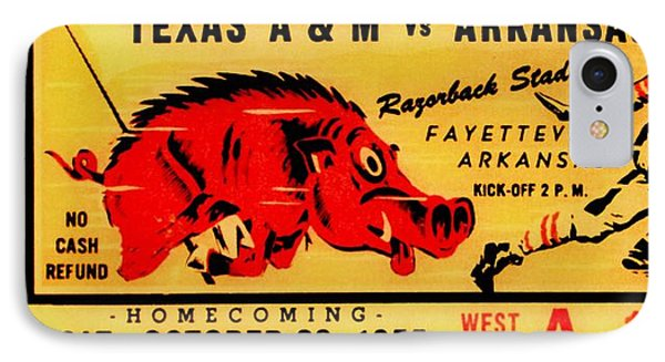 The Old Southwest Conference IPhone Case by Benjamin Yeager
