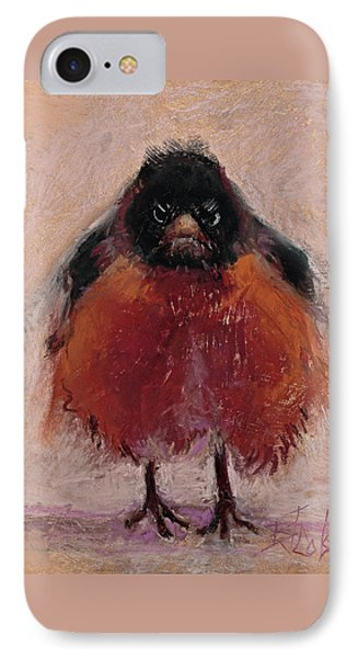 The Original Angry Bird IPhone 7 Case by Billie Colson