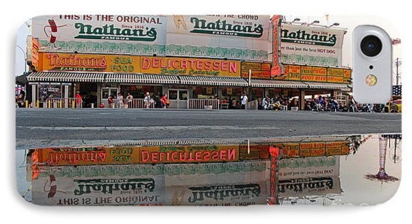 The Original Nathan's IPhone Case by Nishanth Gopinathan