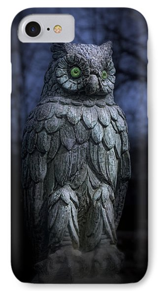 The Owl IPhone Case by Tom Mc Nemar