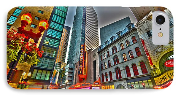 The Paramount Center And Opera House In Boston IPhone Case by Toby McGuire