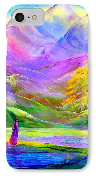 Misty Mountains, Fall Color And Aspens IPhone Case by Jane Small