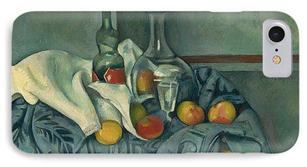 The Peppermint Bottle IPhone 7 Case by Paul Cezanne
