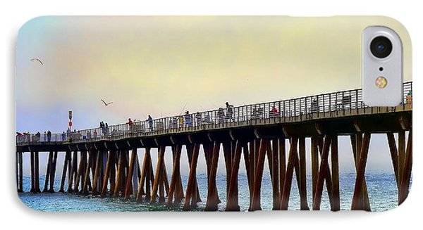 The Pier Phone Case by Camille Lopez