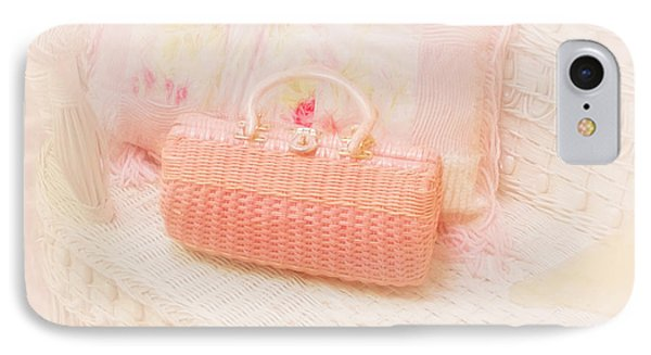The Pink Purse IPhone Case by Kim Hojnacki