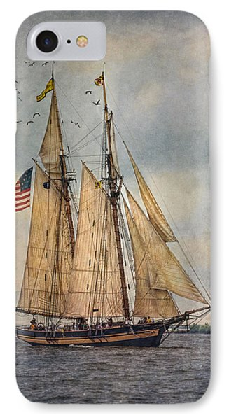 The Pride Of Baltimore II IPhone Case by Dale Kincaid
