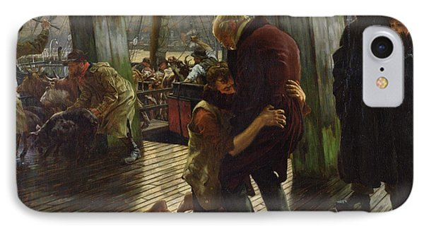 The Prodigal Son In Modern Life IPhone Case by James Jacques Joseph Tissot